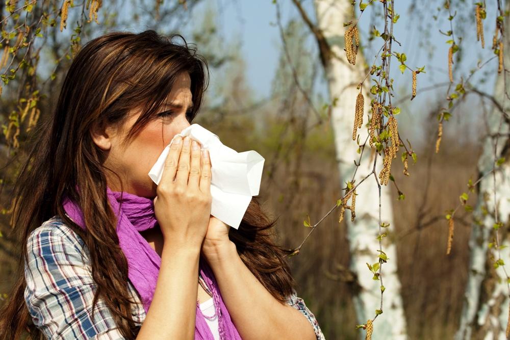Frühblüher Pollenallergie