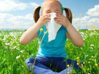 Pollenallergie bei Kindern