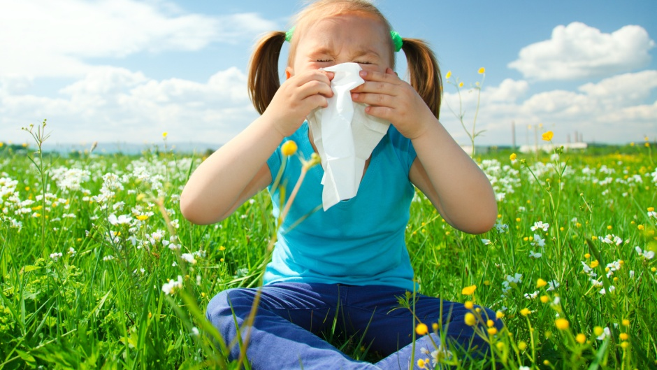 Pollenallergie Kinder